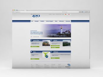 Website www.aki-gmbh.com